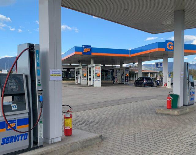 Distributore carburanti a Prato